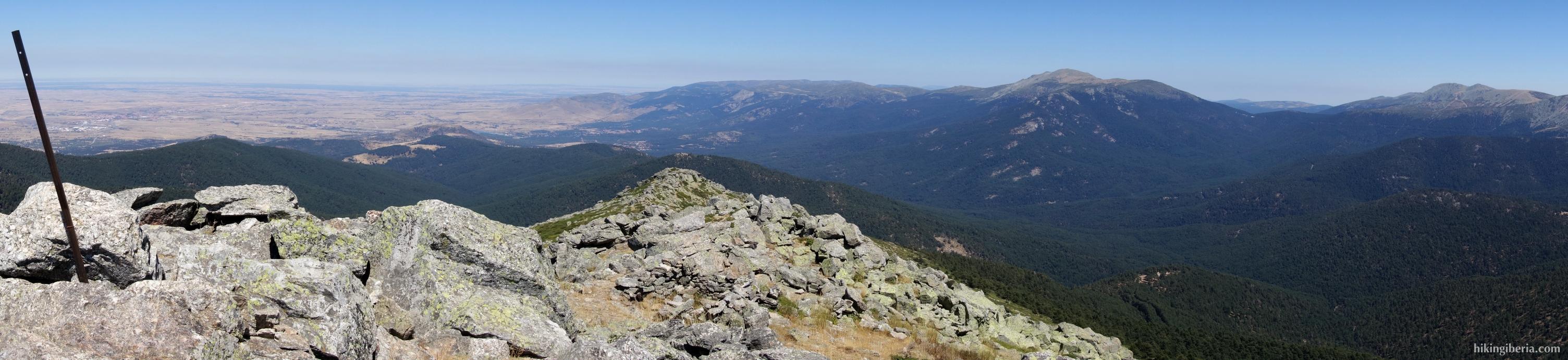 Montón de Trigo über Collado de Marichiva