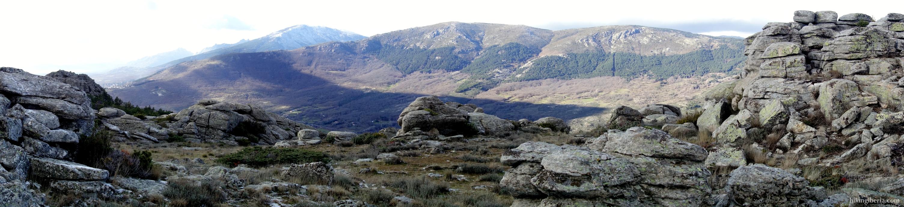 Cabeza Arcón en Pico Pendón