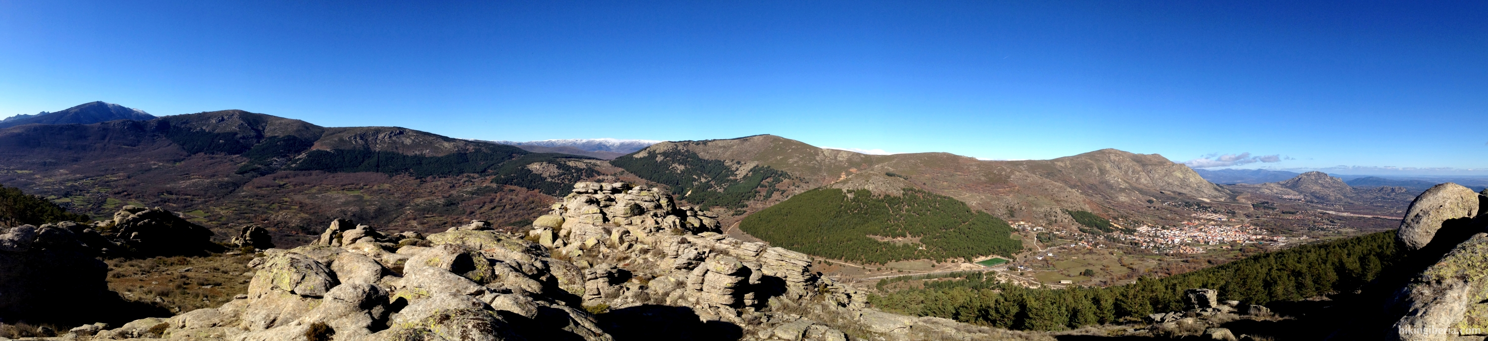 Die Gipfel von Bustarviejo