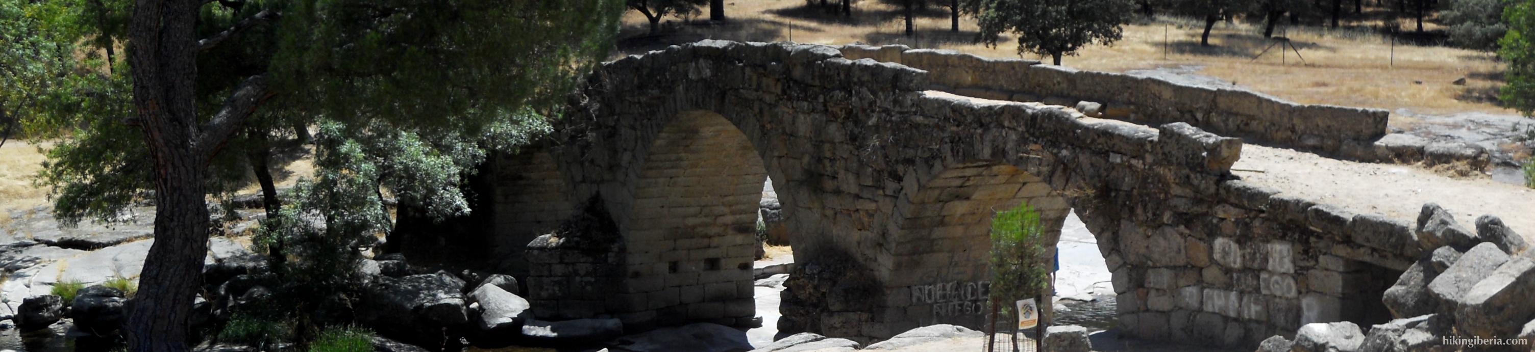 Die römische Brücke von Valdemaqueda