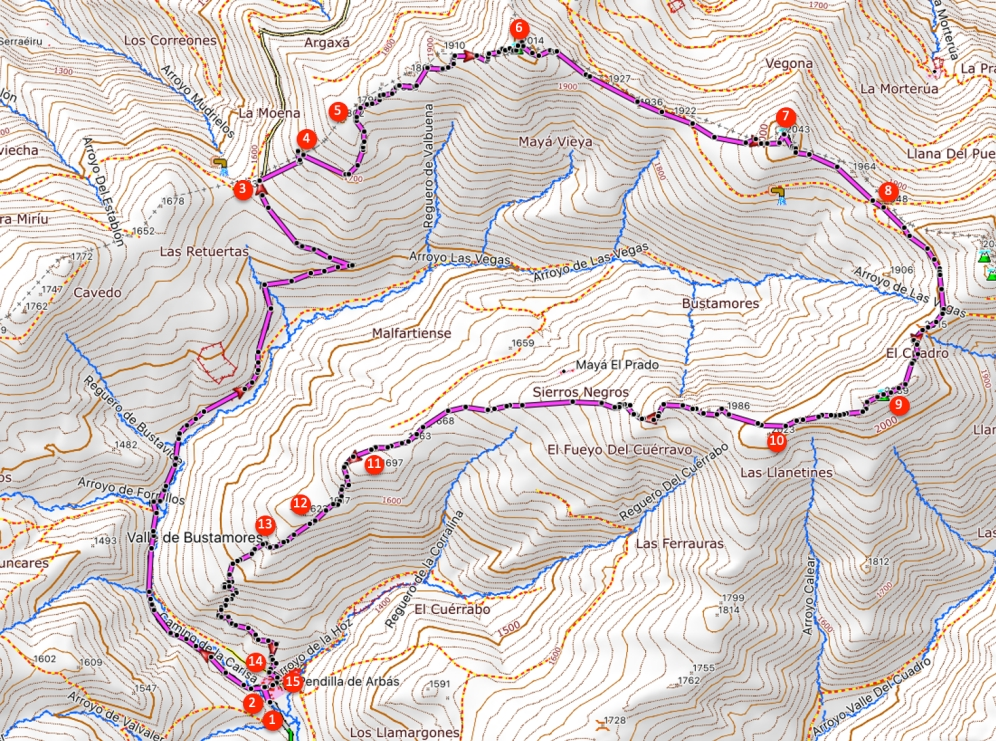 Route Pico el Cuadro