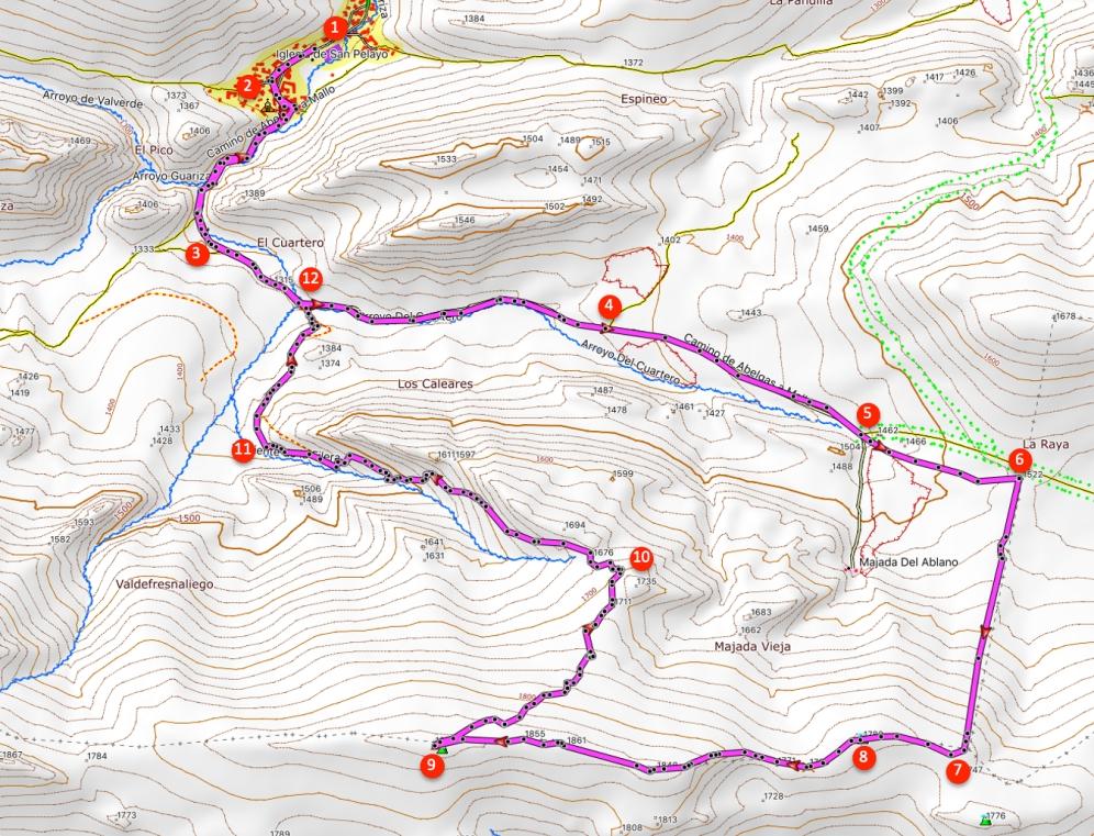 Route The Filera