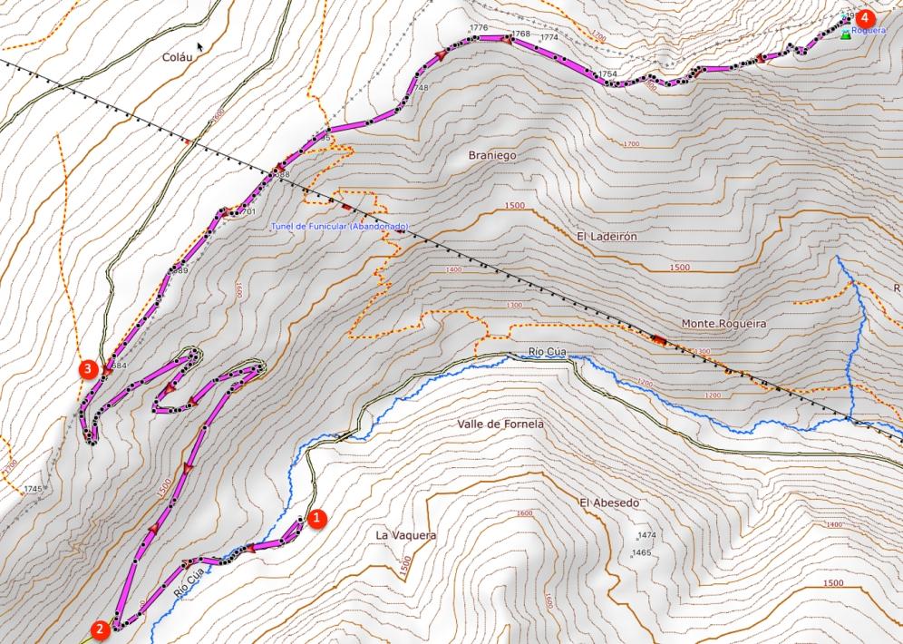 Route Peña Rogueira