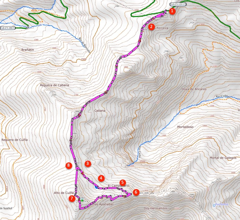 Route Pico Cuiña