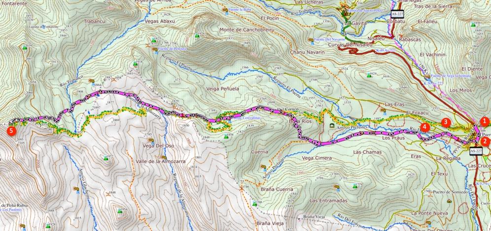 Route El Cornón