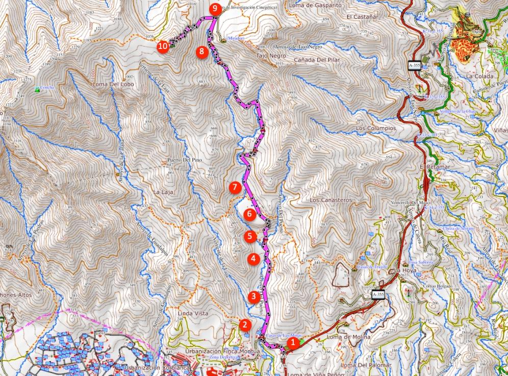 Ruta Cruz de Juanar