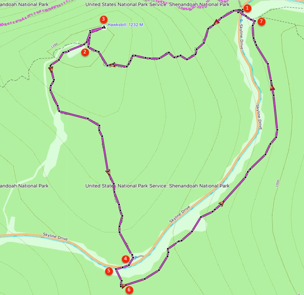 Route Hawksbill
