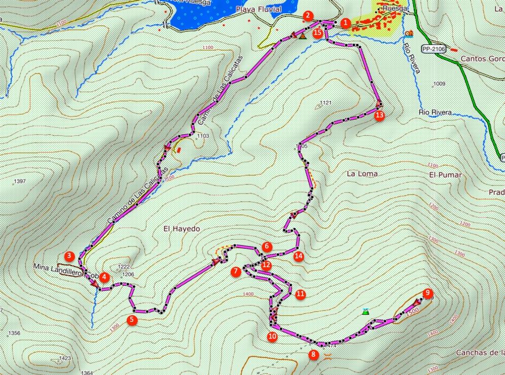Route Pico Almonga