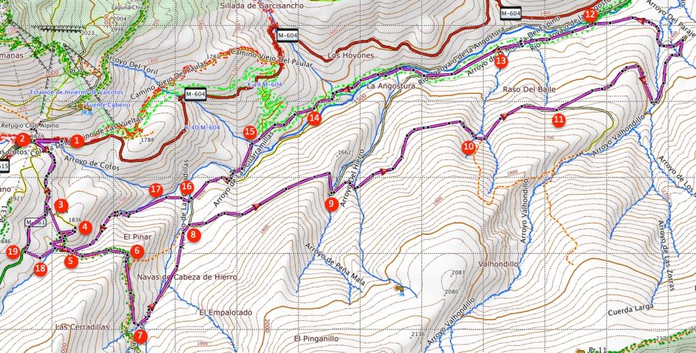 Route The Angostura