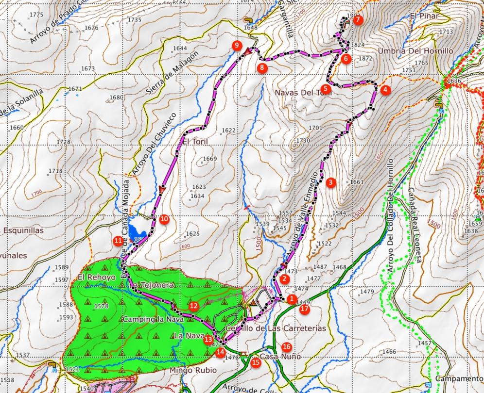 Route Cueva Valiente
