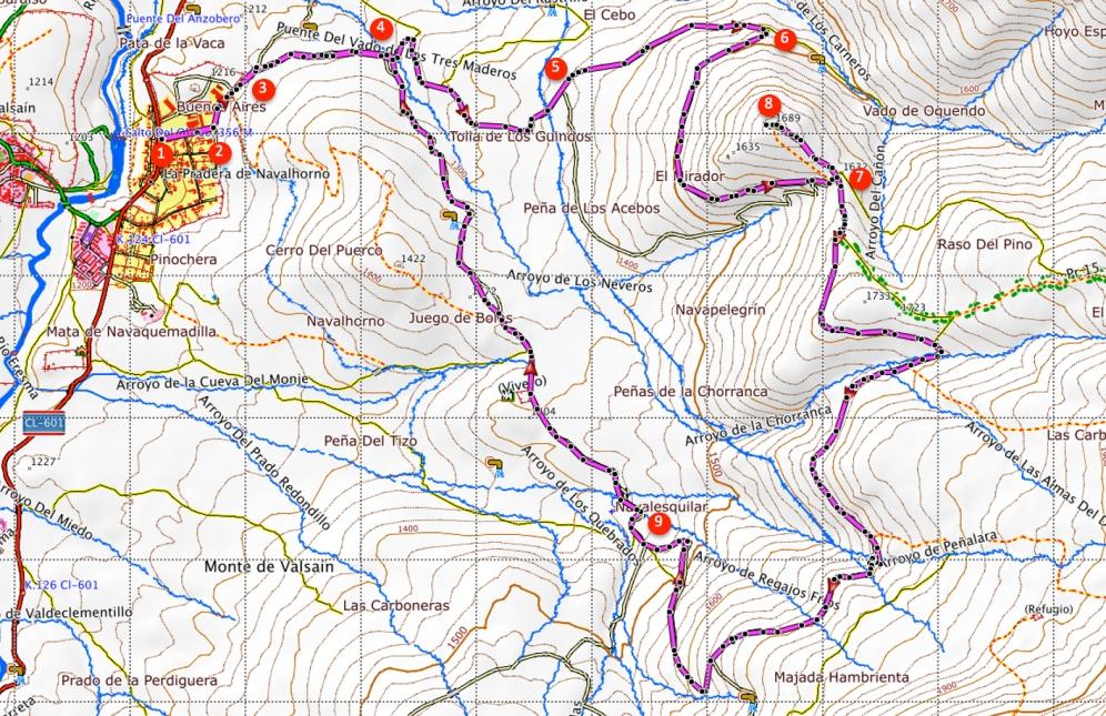 Route Silla del Rey