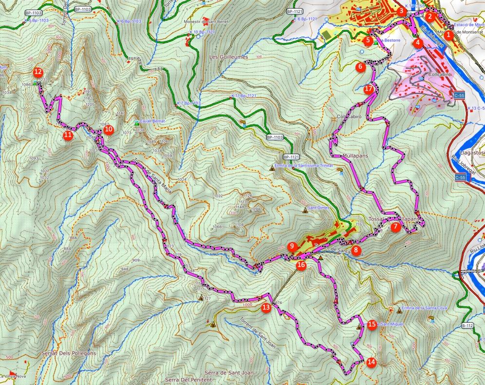 Route Sant Jeroni