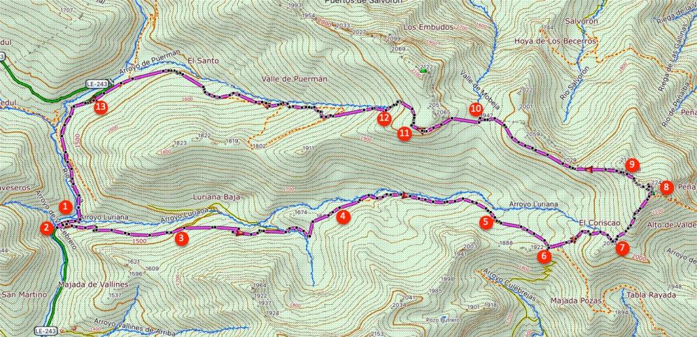 Route Coriscao