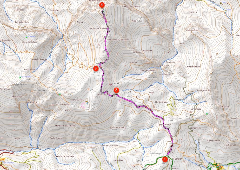 Route Pico Pierzo