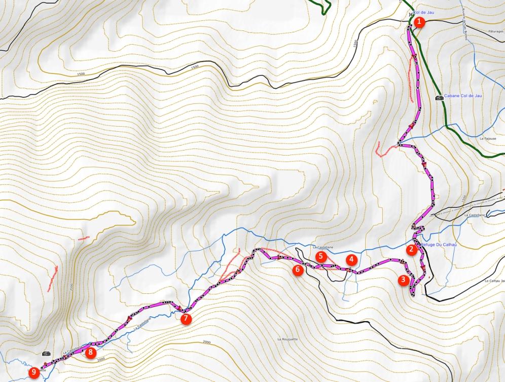 Route La Balmette