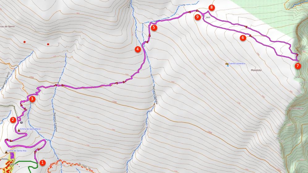 Route Mondoto