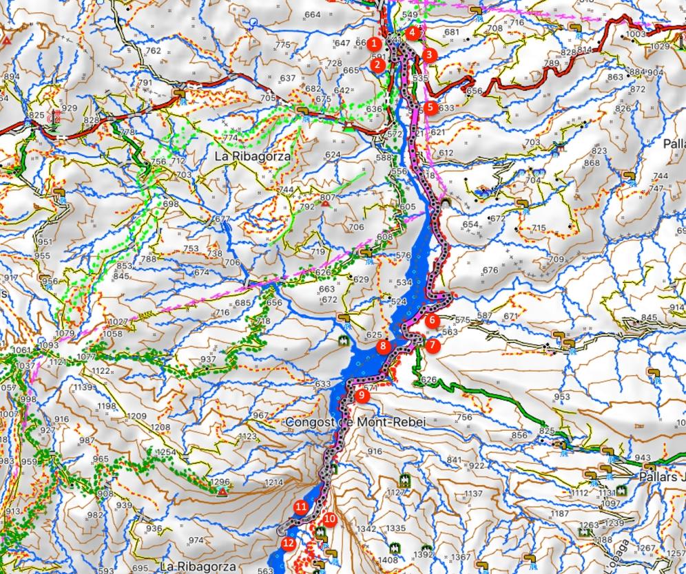 Route Congost de Mont-Rebei