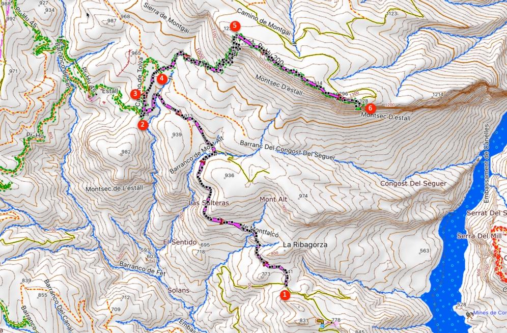 Route Montsec