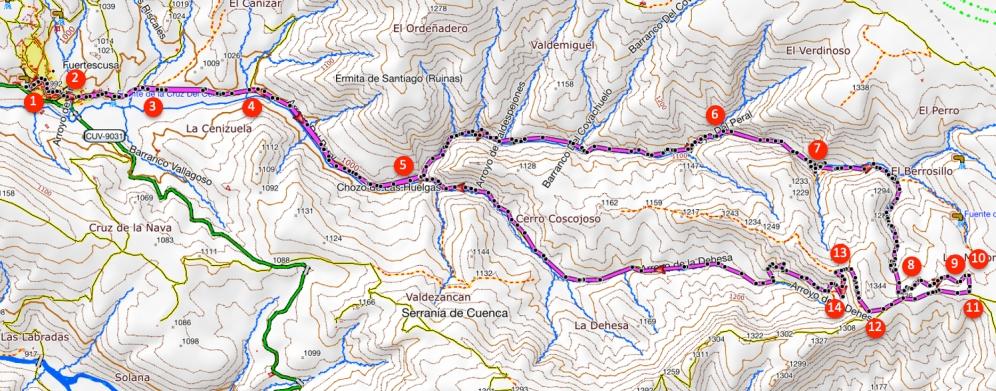 Route Arroyo del Peral