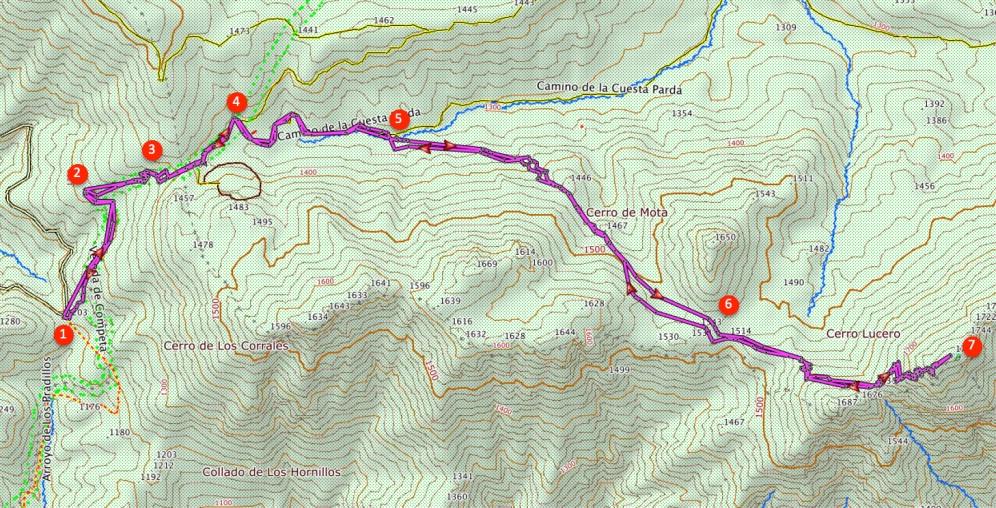 Route El Lucero
