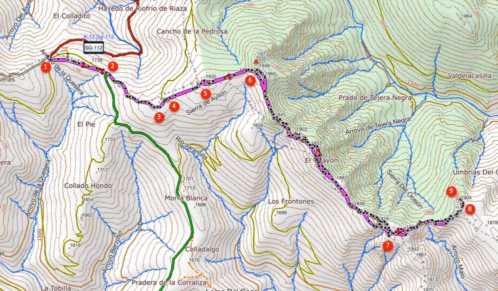 Route Atalaya