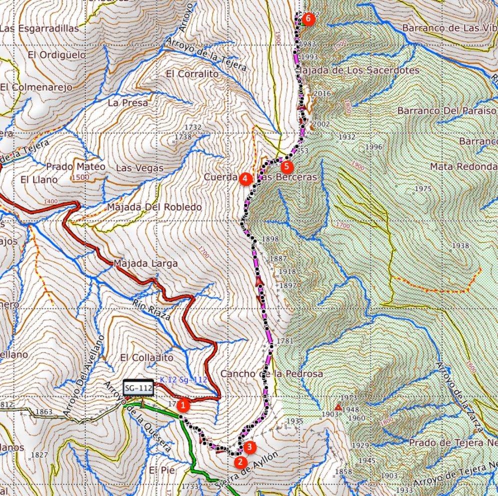 Route De Buitrera