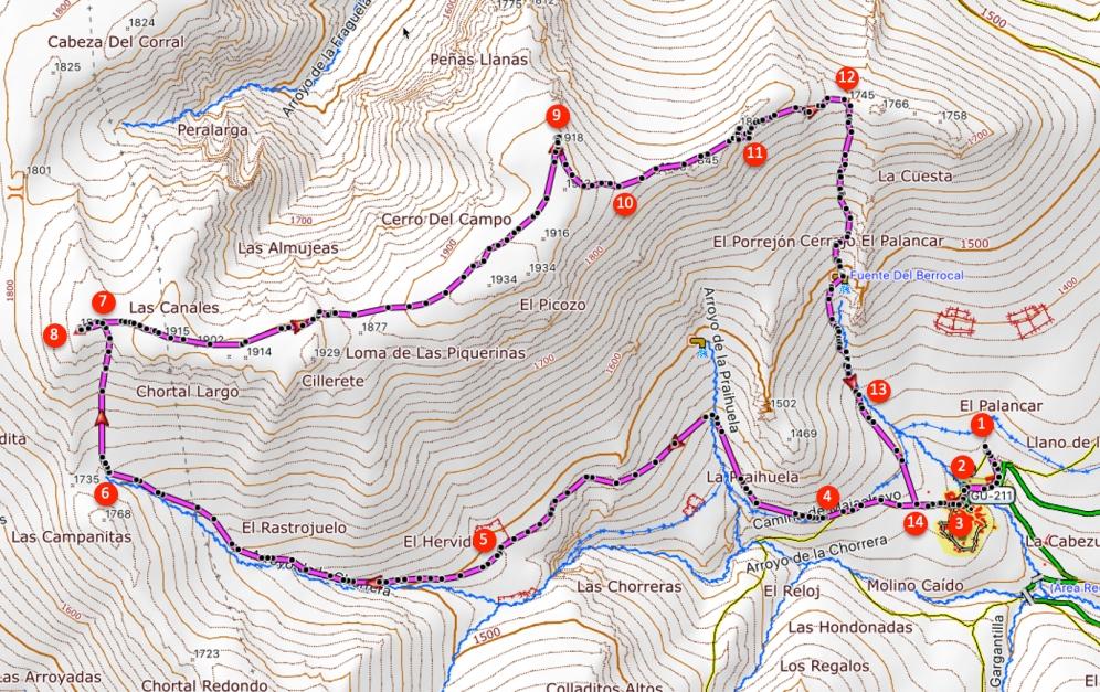 Route Campo