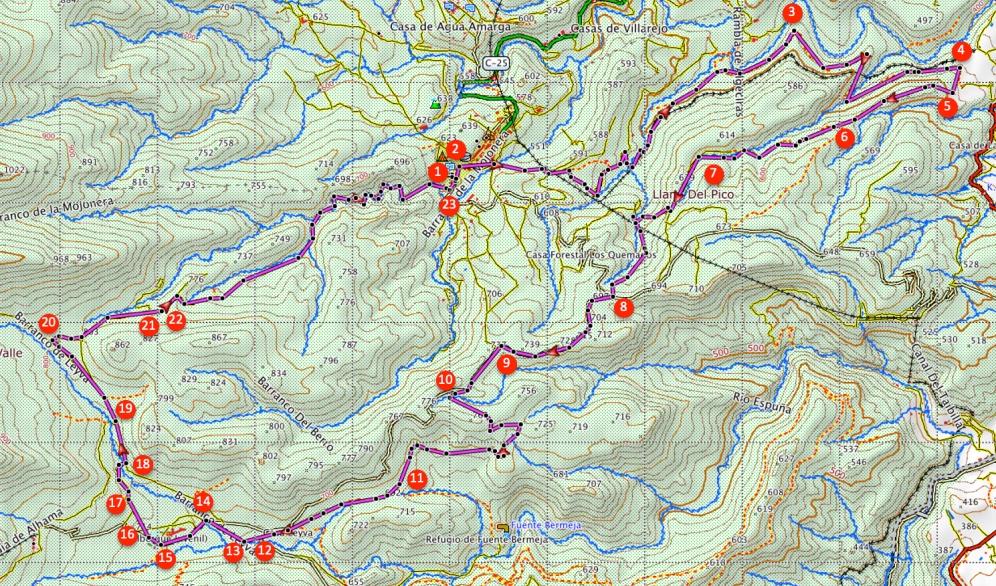 Route El Berro
