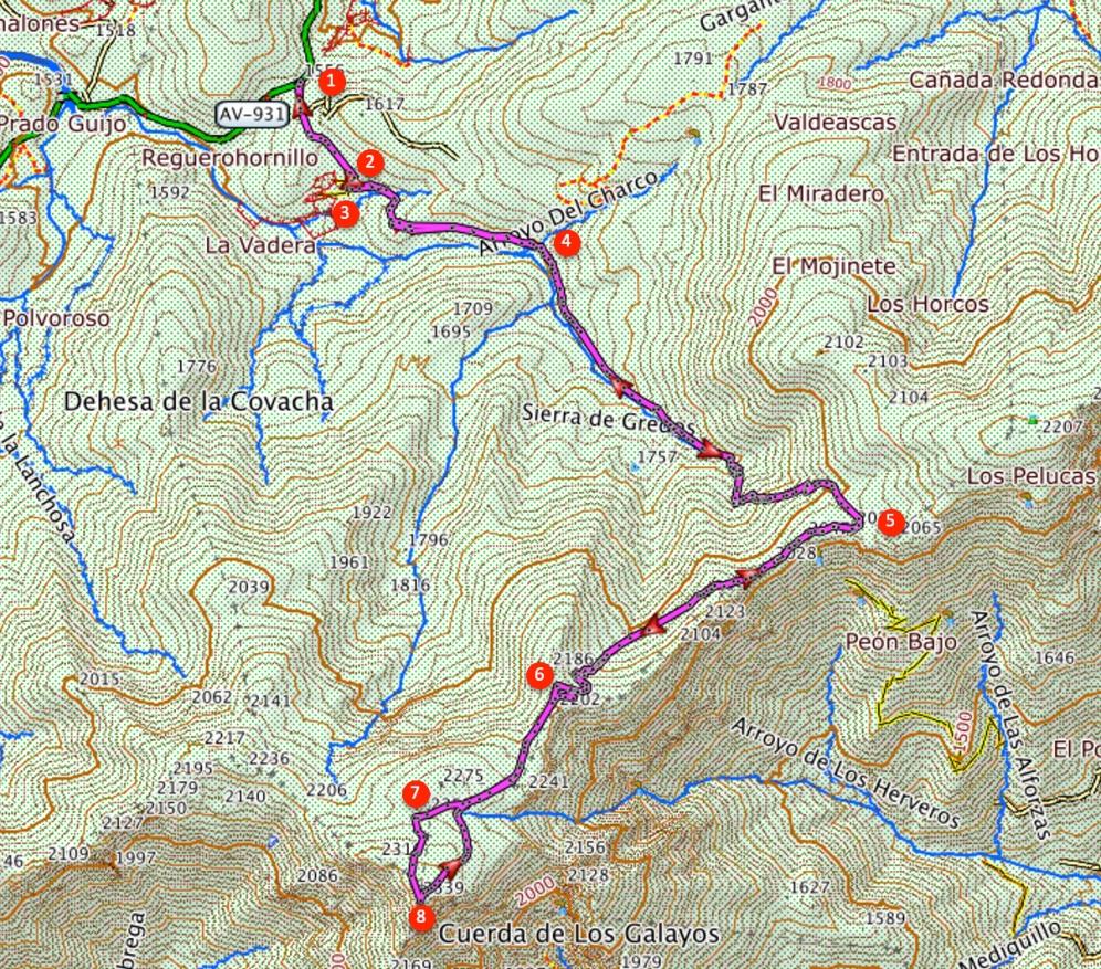 Route La Mira