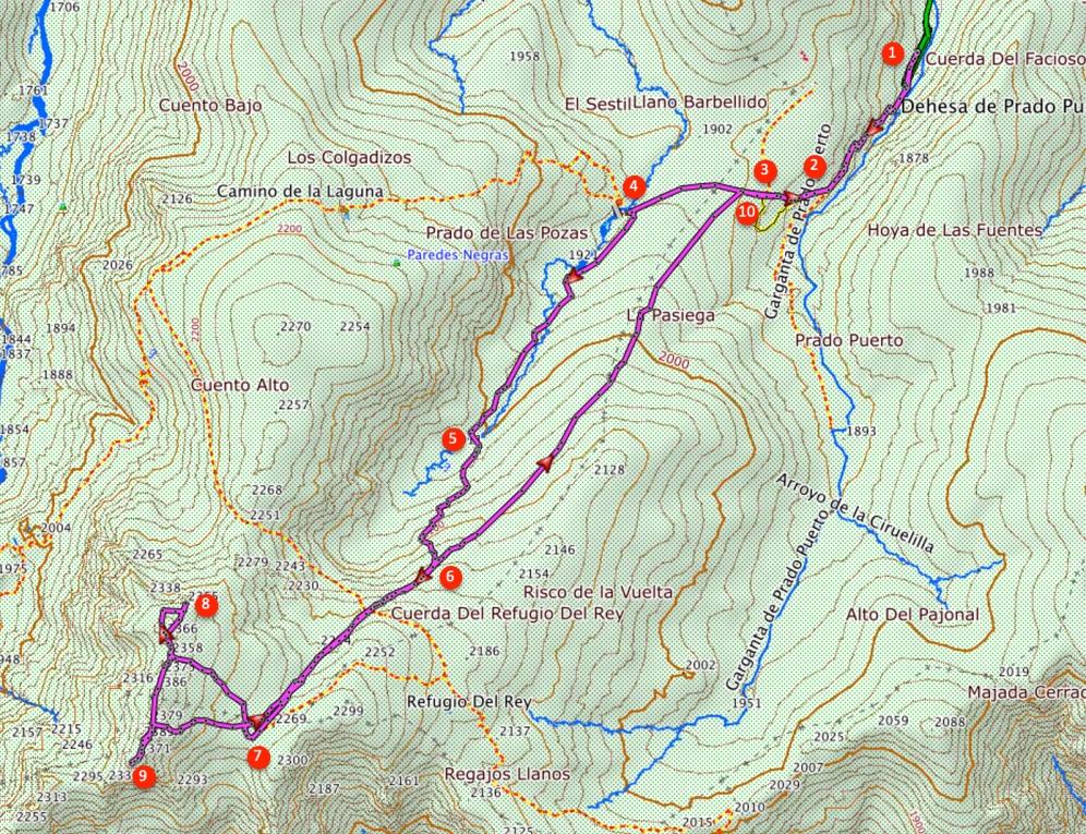 Route The Morezón