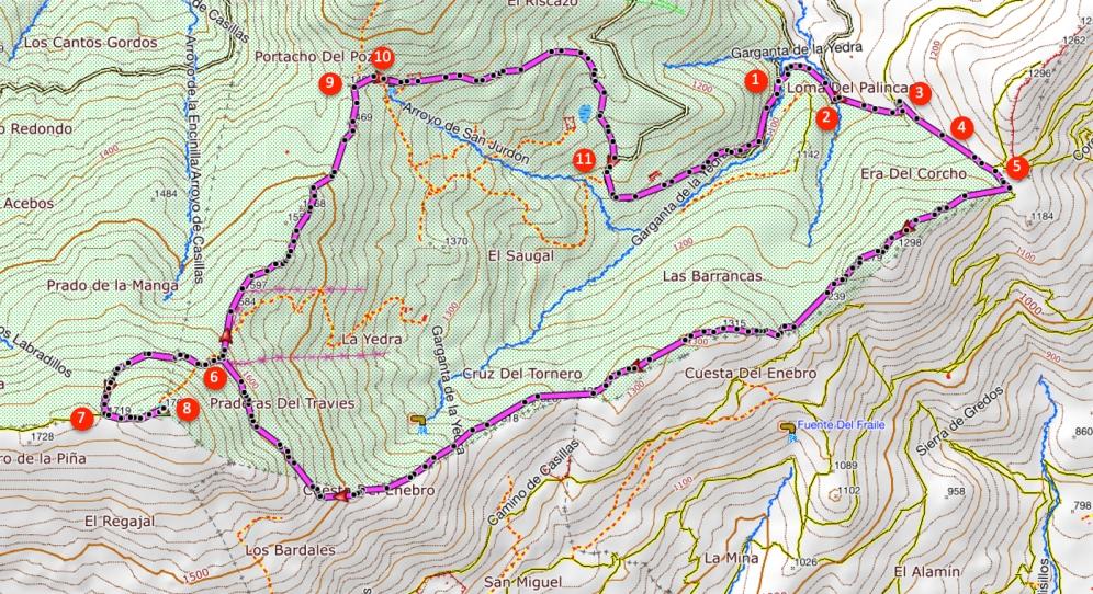 Route Pico Casillas