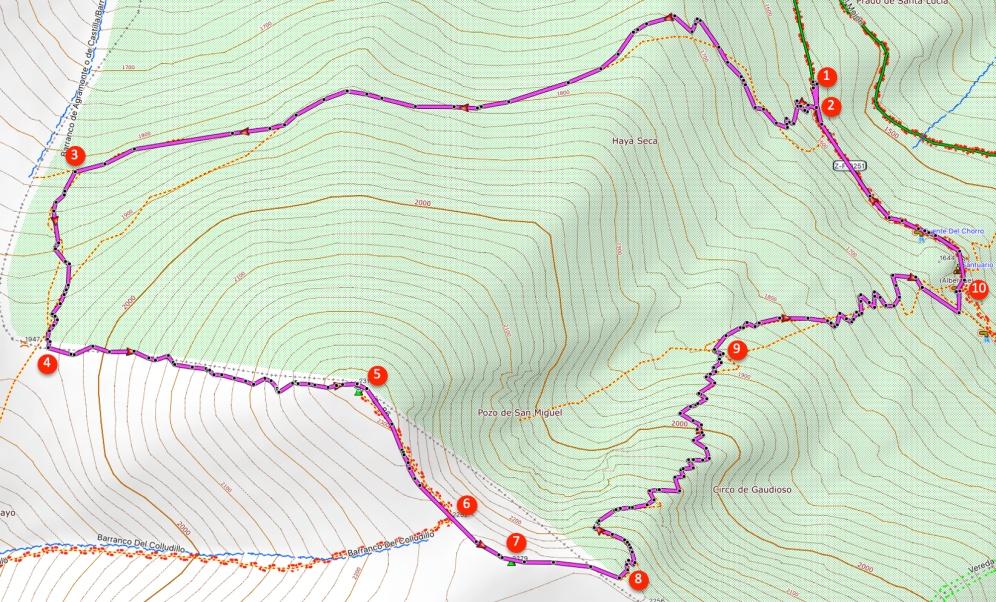 Route Moncayo