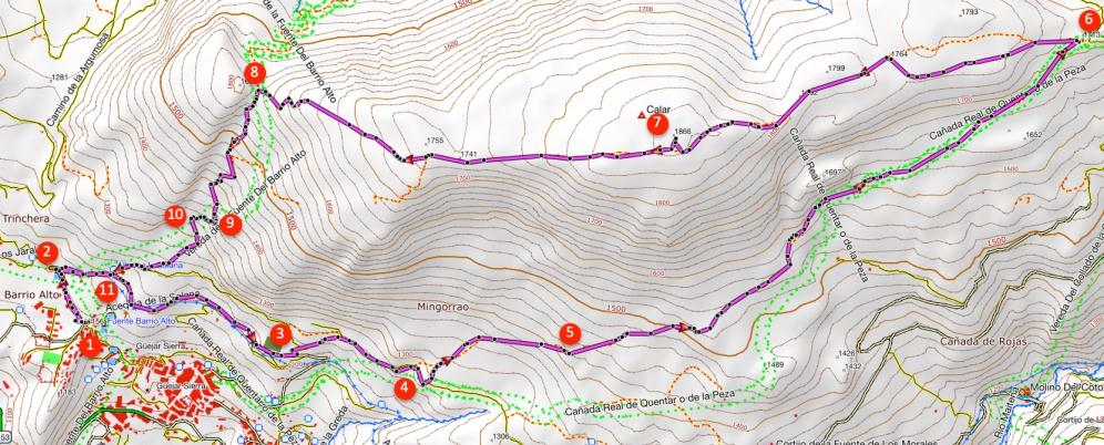 Route El Calar