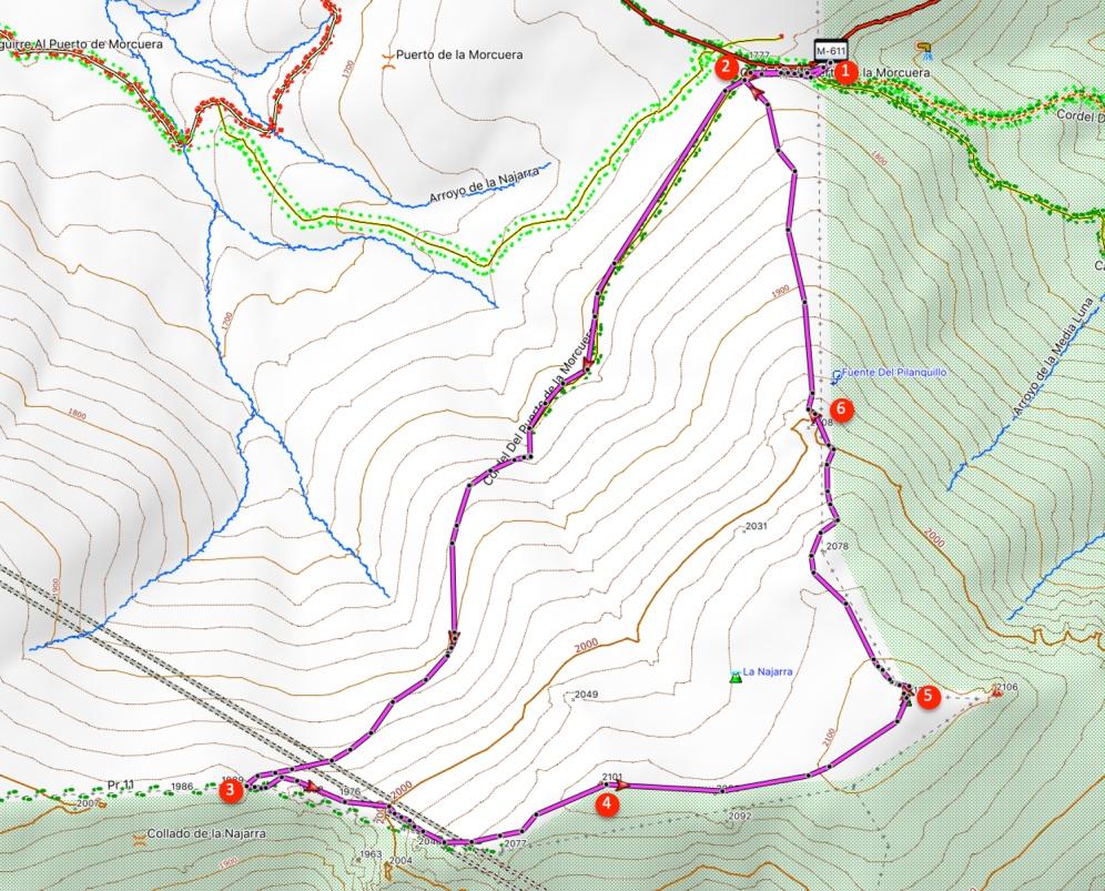 Route Najarra