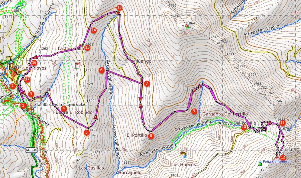 Route Pico Centenera