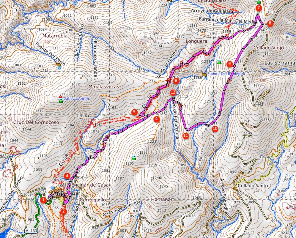 Route Pico Somosierra