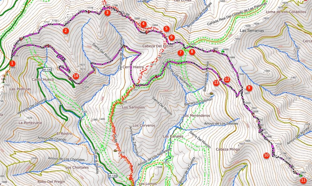 Route La Tornera
