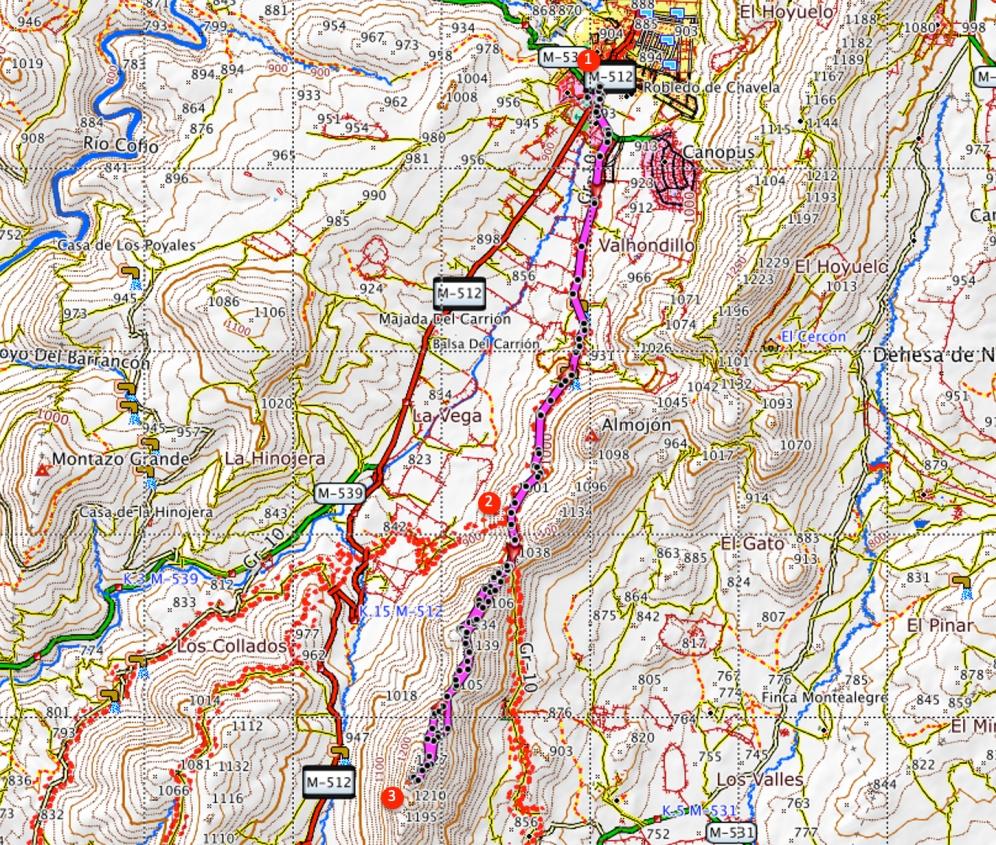 Route The Almenara