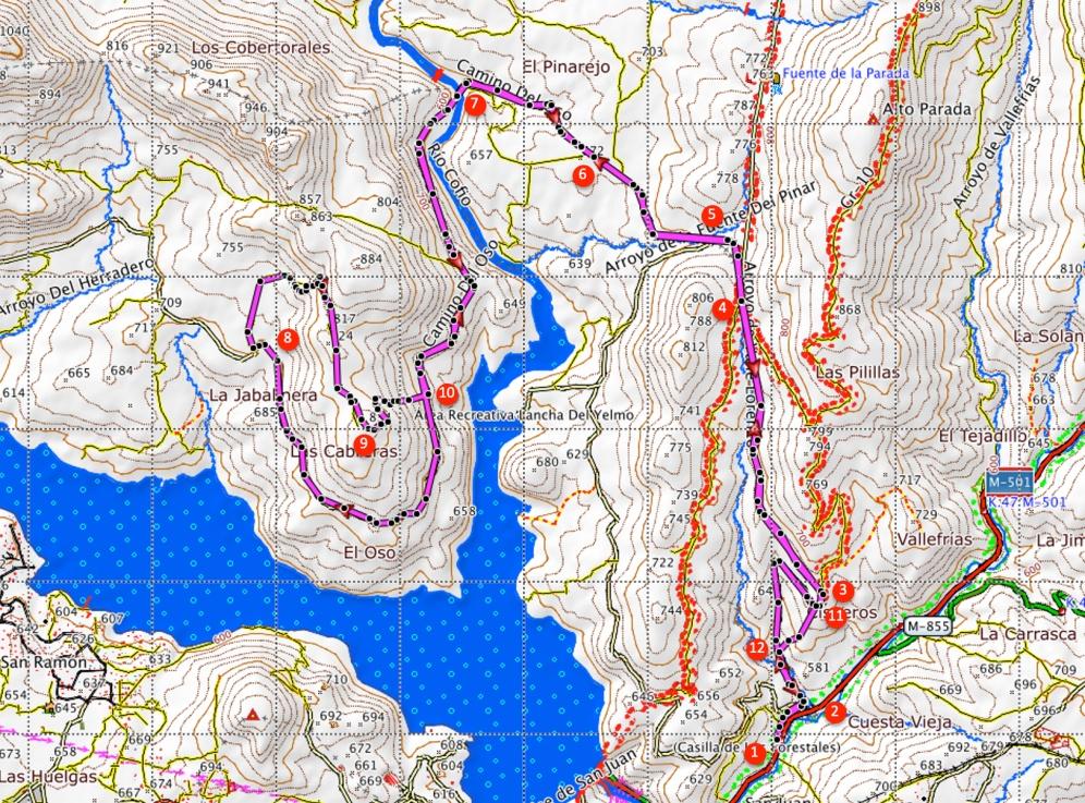 Route Las Cabreras