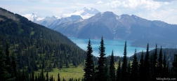 View on the Garibaldi Lake