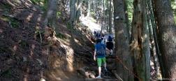Aufstieg über den Grouse Grind