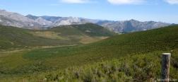 Ascent to the Peña del Palomar