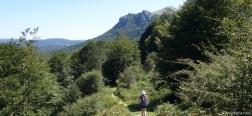 Descent to Mikeleten Etxea