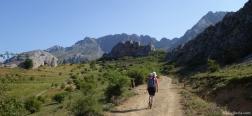 Camino cerca de Torrebarrio