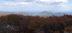 Views from the Hawksbill Summit