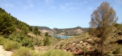 Primera vista al embalse