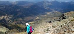 Abstieg von Curavacas