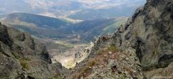 Aussicht während des Aufstiegs zu Curavacas