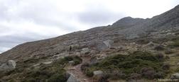 Ascent to Punta la Marmora
