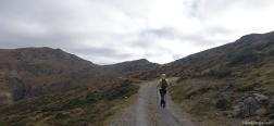 Dirt road to Arcu Gennargentu